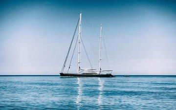 море, яхта, mediterranean sea, средиземное море