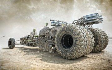 wheel, desert, auto, f, frame, mad max