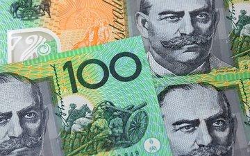 australia, note, dollar, 100