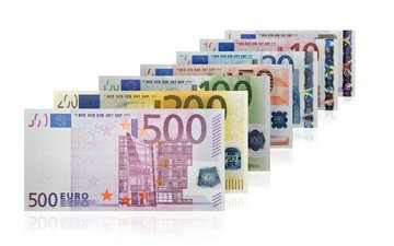 money, currency, a number, bill, euro, banknotes
