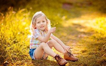 свет, улыбка, дети, радость, девочка, счастье, детство, ботинки