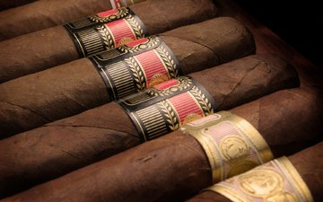 макро, сигары, краcный, блака, табак, золотая, habanos, бурые