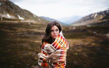 девушка, холод, аляска, anna thomas, safe and sound, hatcher pass