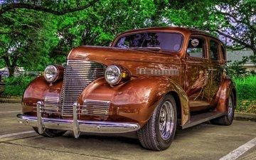 style, retro, circa 1930 chevy, oldtimer
