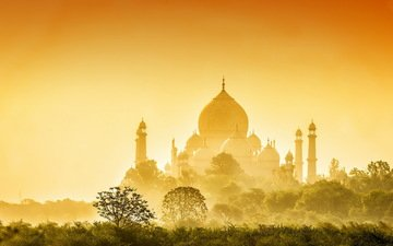 архитектура, индия, тадж-махал, золотой тадж