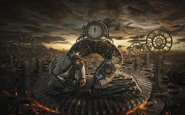 время, gears of time, шестерня