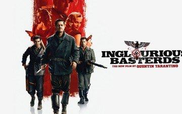 the film, inglourious basterds