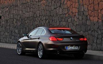 machine, brown, car, bmw, 2013 bmw 6-series gran coupe