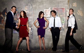 the series, how i met your mother, sitcom, kuraj bambey, courage bamboo