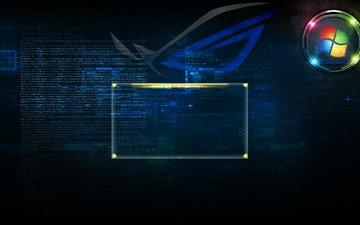 экран, хайтек, приветствие, logon, tech logon
