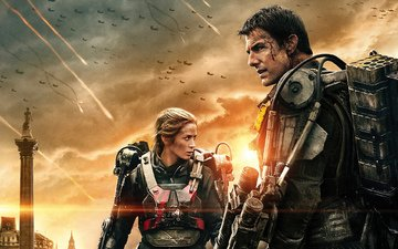 fiction, the film, emily blunt, edge of tomorrow, tom cruise