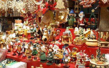 новый год, снежинки, подарки, игрушки, праздник, снеговики, лавка, санта клаус, коробки, встреча нового года, рождественская, пряники, игрушками, щелкунчики, подсвечники, карусели