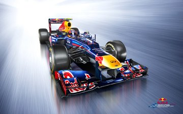 формула 1, f1, болид, red bull, webber, rb8
