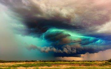 the sky, clouds, usa, az, storm