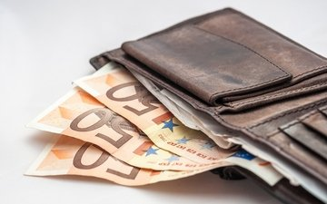 money, euro, ., wallet