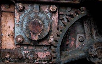 металл, ржавчина, индустриальный, inevitability, oxidation