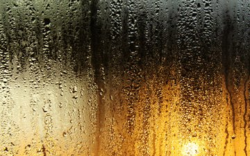стекло, капли дождя, light colors, cтекло