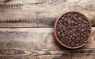 кофе, стол, дерева, зерна кофе, столики, кофе в зернах, настольная