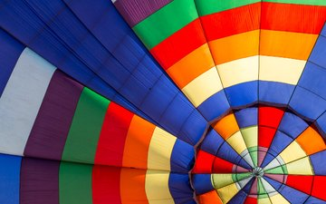 фон, цвет, разноцветный, воздушный шар, аэростат