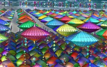 abstraction, color, 3d, 3d graphics, wallpapers