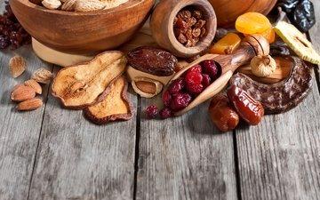 вишня, яблоко, груша, изюм, инжир, курага, сухофрукты, финики