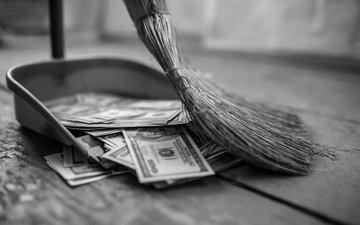 money, lost, broom, inecesarios costs, lack of control