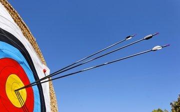солома, стрелки, стрелы, стрельба из лука