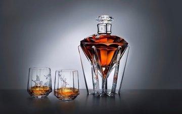 алмаз, k, оленей, johnnie walker whiskey, ducks, fine vessels of glass, glass bottle, настольная