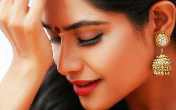 девушка, поза, красавица, губы, актриса, смайл, грань, красива, знаменитост, индеец, миленькая, брюнет, хорошенькая, волос, взор, болливуд, gевочка, индийский, arjita roy, aктриса, модел