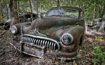 background, machine, scrap, buick