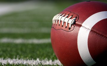 leather, the ball, american football, ball