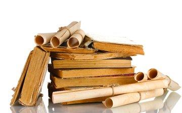 paper, books, parchment, old, paper oxide, old parchment