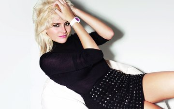 девушка, блондинка, портрет, волосы, лицо, певица, пикси лотт, танцовщица, британская певица, автор песен