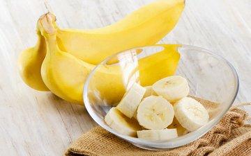 плоды, банан, бананы