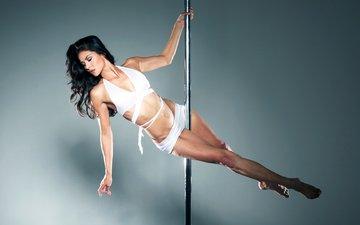 girl, dance, pole