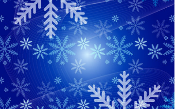 abstraction, snowflakes, background, vector