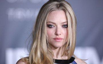 блондинка, актриса, блонд, аманда сейфрид, aктриса