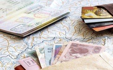 карты, деньги, туризм, бабосы, maps, credit cards, паспорта, кредитные карты