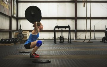 sport, woman, ass, power, fitness, the gym, rod, weight, gym, squats, bench
