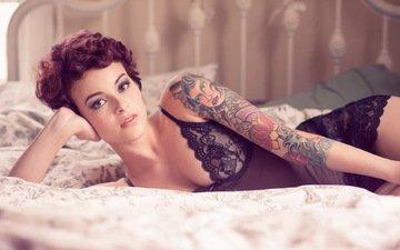 фон, kara mcgnarley, модел