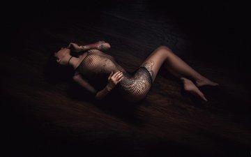 девушка, сетка, тату, грудь, ножки, фотограф, белье, попка, красивая, страсть, прикосновение, alexander prime, шикарное тело