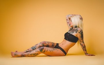 background, tattoo, linda romero