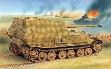 pt-acs, ferdinand, tank destroyer