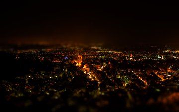 night, the city, photographer, björn wunderlich, weinheim, photography