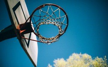 кольцо, корзина, спорт, баскетбол