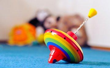 игрушки, игры, волчок, юла