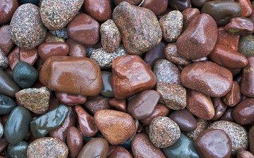 камни, берег, краски, камешки