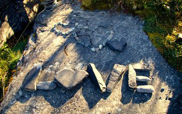 камни, слова, сердце, любовь