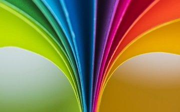 фон, краски, бумага, цветная