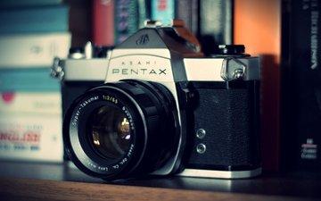 the camera, camera, lens, pentax
